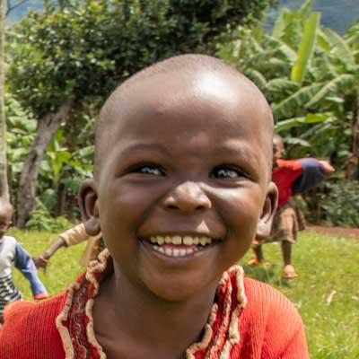 Queen fra Rwanda får mat og trygghet.