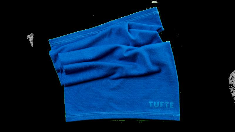 NeckWarmer fra Tufte, blå