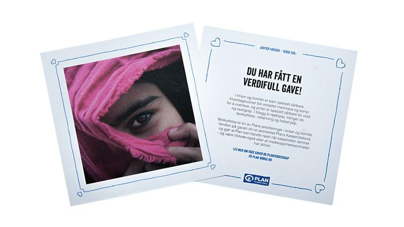 Gavekort: Jenter i kriser