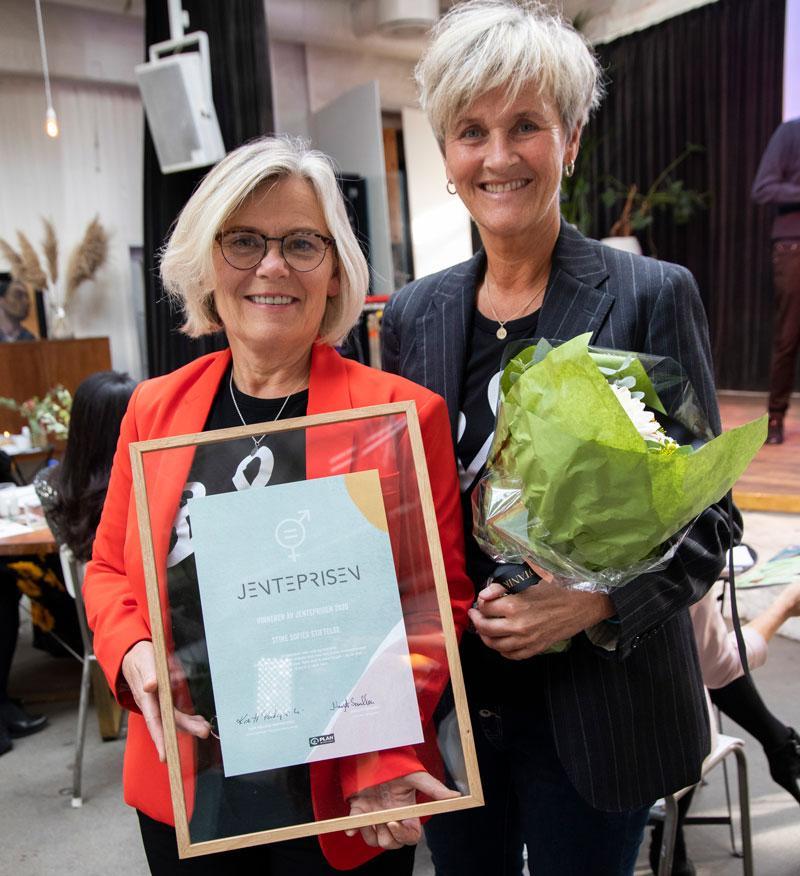 Ada Sofie Austegard og Tone Vareberg