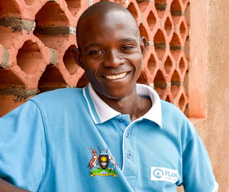 Naika Magidu, frivillig i Uganda