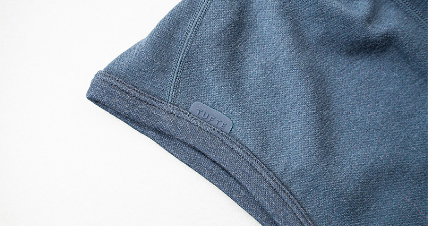 Gaver med mening: Tufte Wear, blå balaklava. Foto.