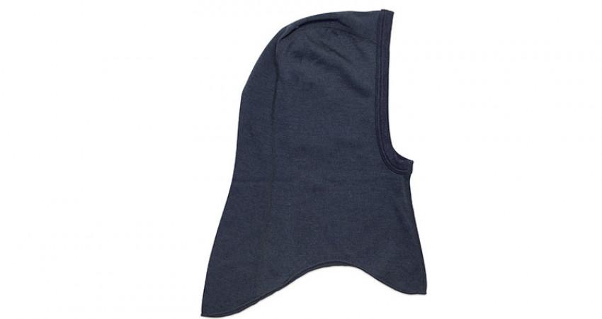Julegave med mening: Tufte Wear, blå balaklava. Foto.